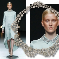 Jewels catwalk with CARRERA Y CARRERA in Fashion Week Madrid 2012
